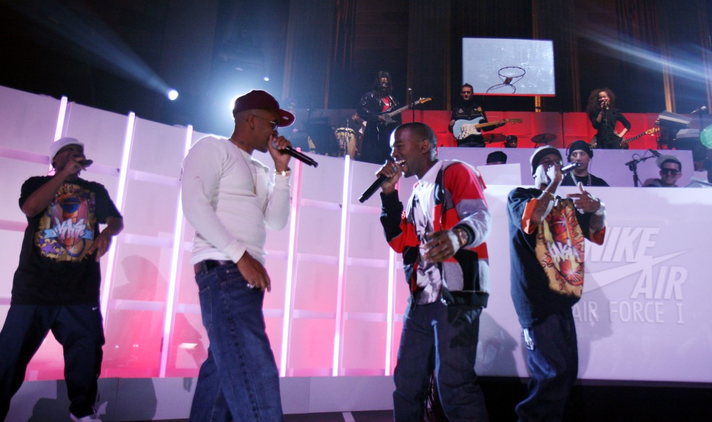 Nike Presents an All-Star Twenty Fifth Anniversary Celebration of The Air Force 1 in Sport and Music - December 10, 2006