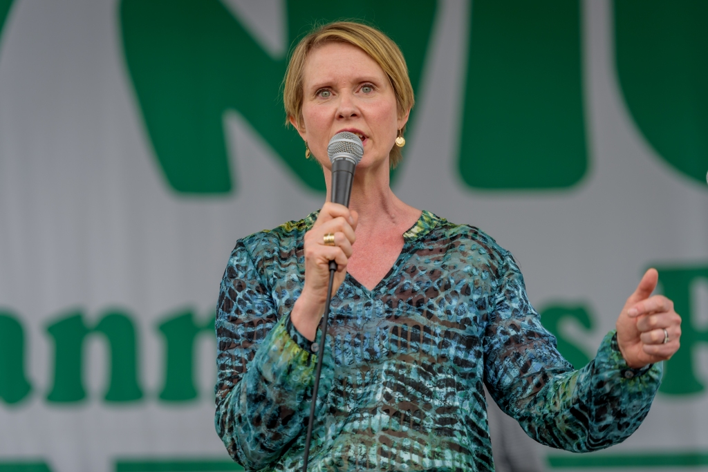 Cynthia Nixon, a candidate running for governor - The NYC...