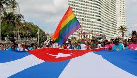 Cubans March Against Homophobia In Havana