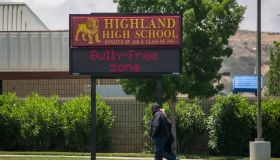 Shooting Reported At Highland High School In Palmdale, California