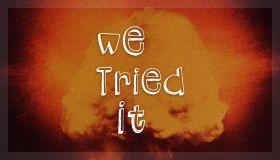 Video Franchise Thumbnail: We Tried It