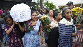 GUATEMALA-VOLCANO-FUEGO