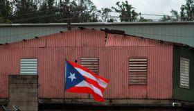 Lin-Manuel Miranda Visits Vega Alta, Puerto Rico To Discuss Hurricane Relief Efforts