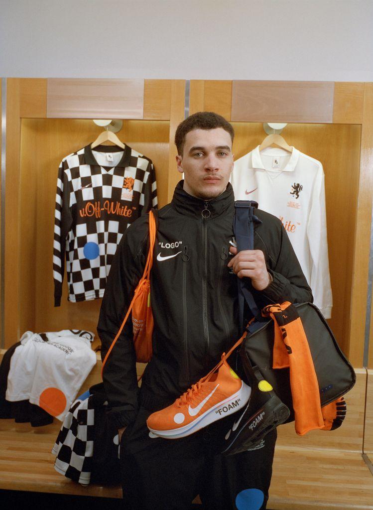"""Nike x Off White """"Football Mon Amour"""""""