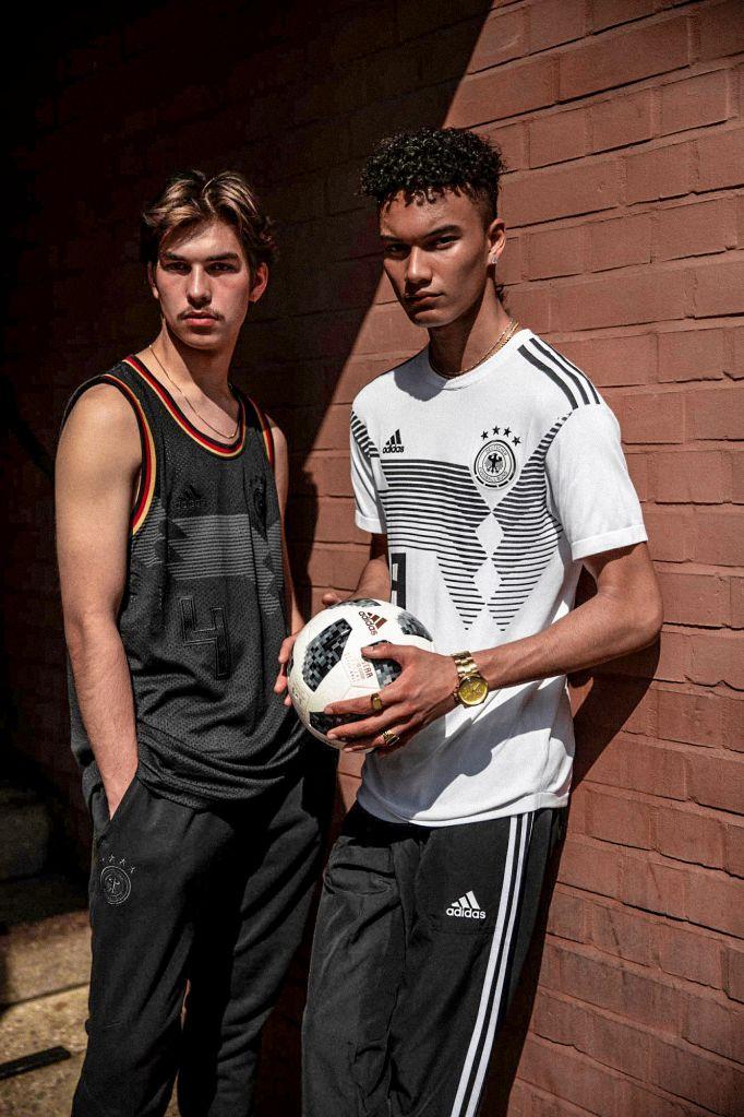 adidas Soccer Primeknit Germany Jersey