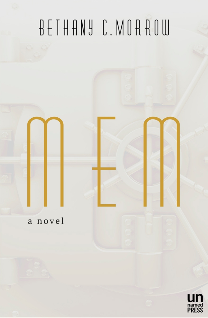 Bethany C. Morrow 'MEM' Book Cover