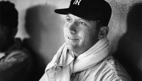 American Baseball Player Mickey Mantle