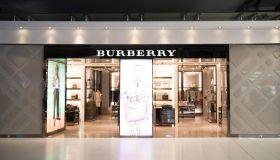 British luxury fashion brand Burberry store seen in Bangkok...