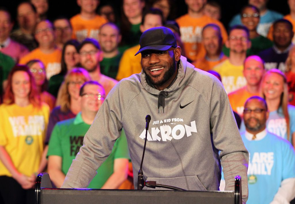 LeBron-inspired Akron school to be subject of a docu-series, filming starts soon