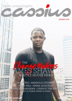 august 2018 cover- james shaw