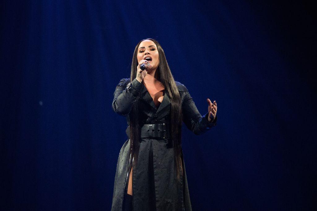 Demi Lovato Performs At Birmingham Arena