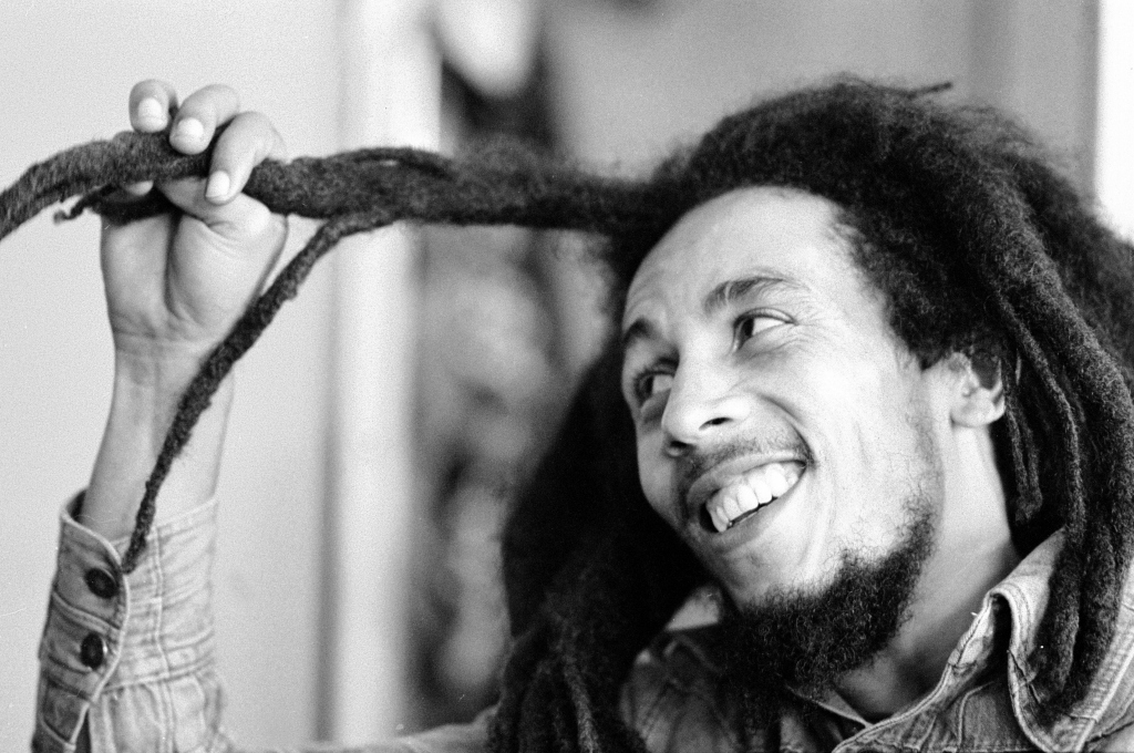 Jamaican singer Bob Marley seen here in interview with the Daily Mirror following the ban on his performing in London du