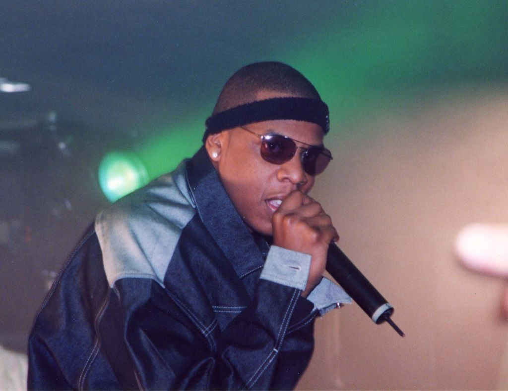 Jay-Z's Roller Bash CD Release Party taping for MTV