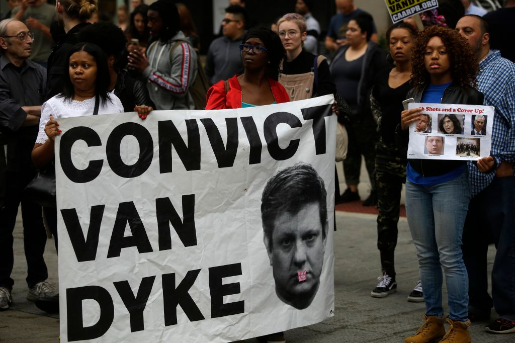 Chicago Police Officer Jason Van Dyke Guilty Of Second Degree Murder In Shooting Of Laquan McDonald