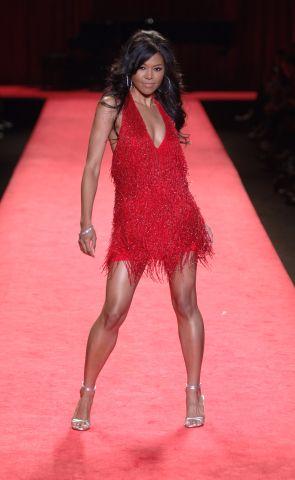 Olympus Fashion Week Fall 2006 - 'Heart Truth Red Dress' - Runway