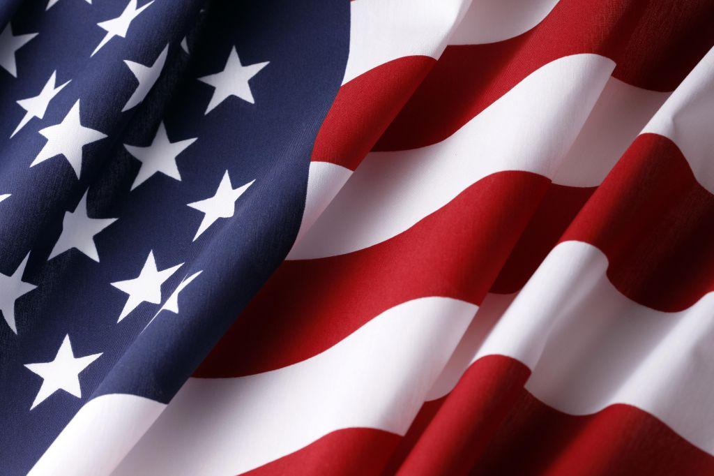 USA American Flag Background