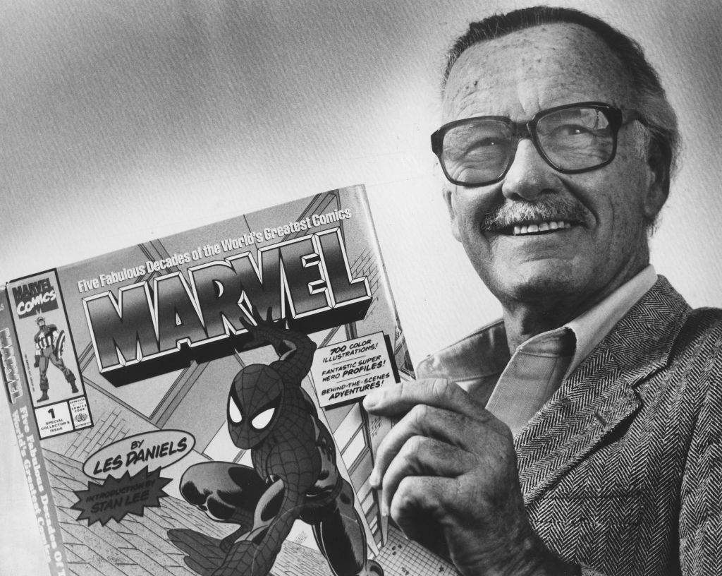 Marvel comics publisher and spider-man creator Stan Lee.