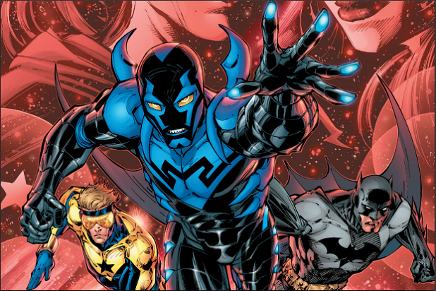 BLUE BEETLE WB's First Latino Superhero Movie