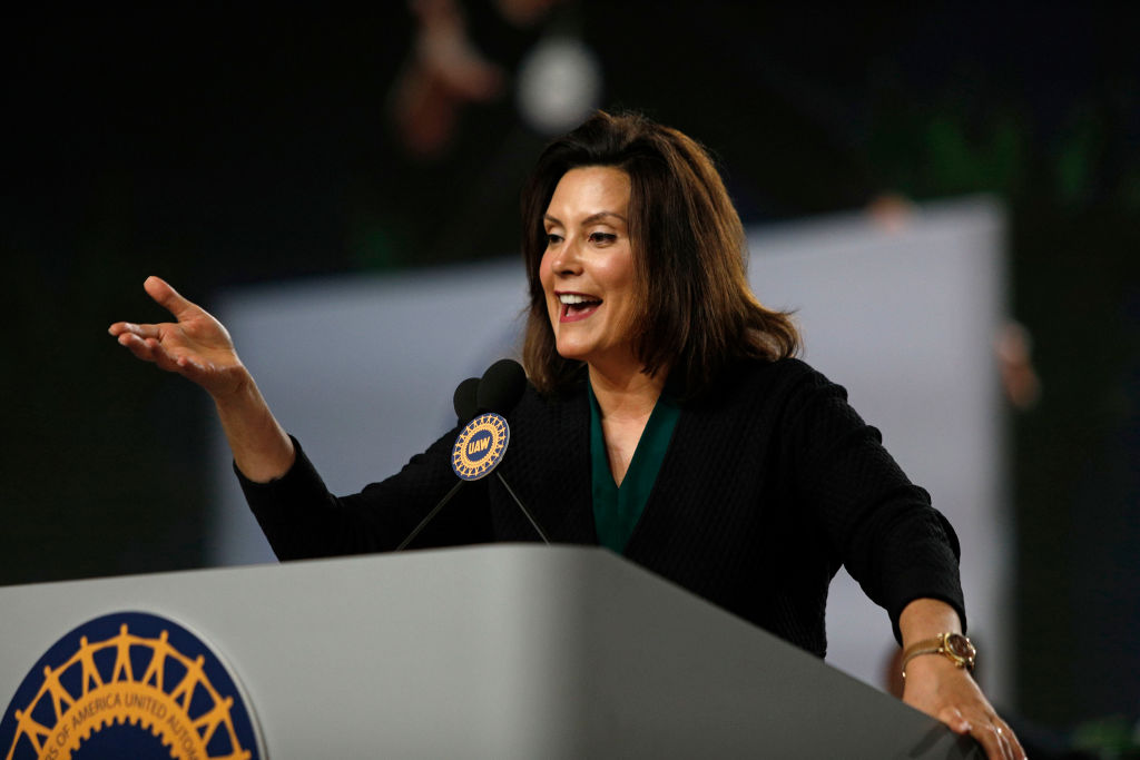 New UAW President Addresses Annual UAW Convention