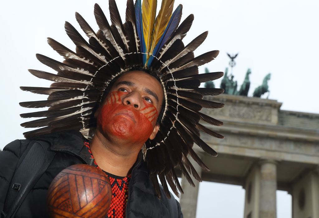 Indigenous People Protest Ahead Of Climate Summit
