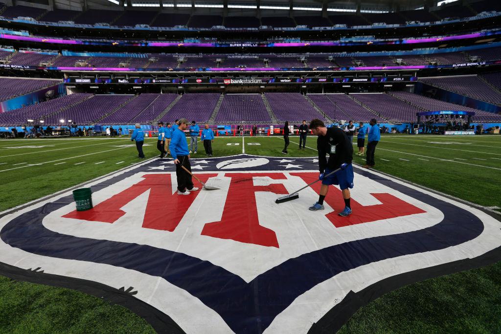 Preparing For Super Bowl LII