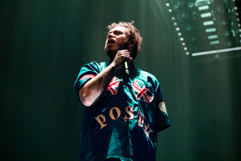 Post Malone Performs At Arena Manchester