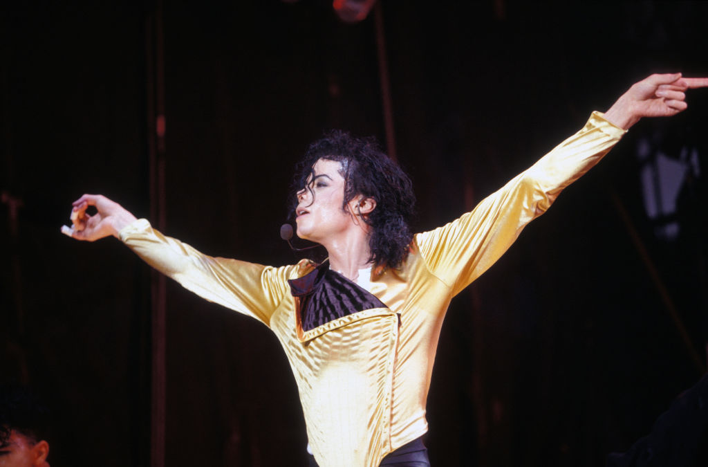 Michael Jackson en concert à Rotterdam en 1992
