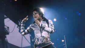 Michael Jackson en concert à Rotterdam en 1988