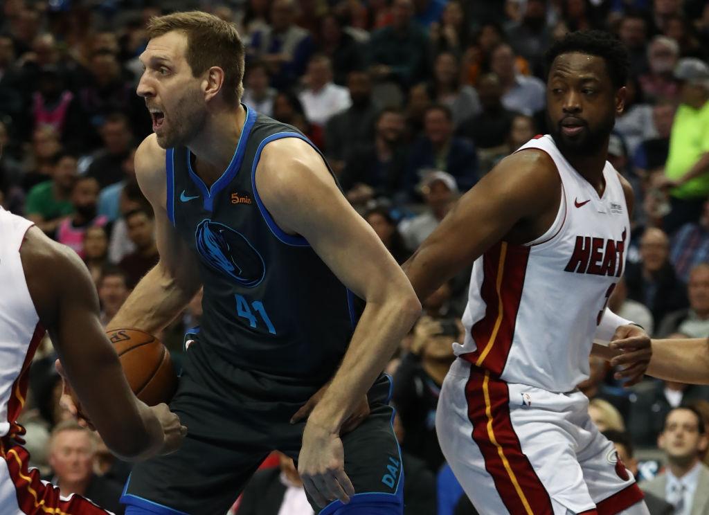 Dwyane Wade & Dirk Nowitzki Drop 30 In Final Home Games