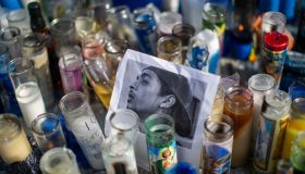 Fans Pay Respect At Scene Where Hip Hop Musician Nipsey Hussle Was Fatally Shot In Los Angeles