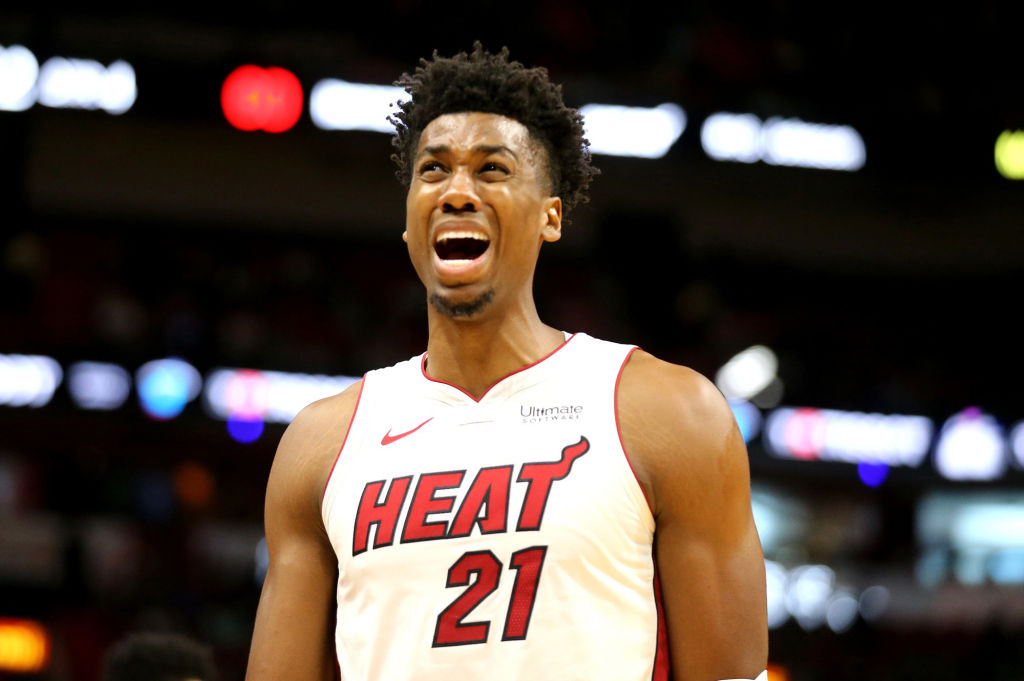 Heat's Hassan Whiteside considers opt out