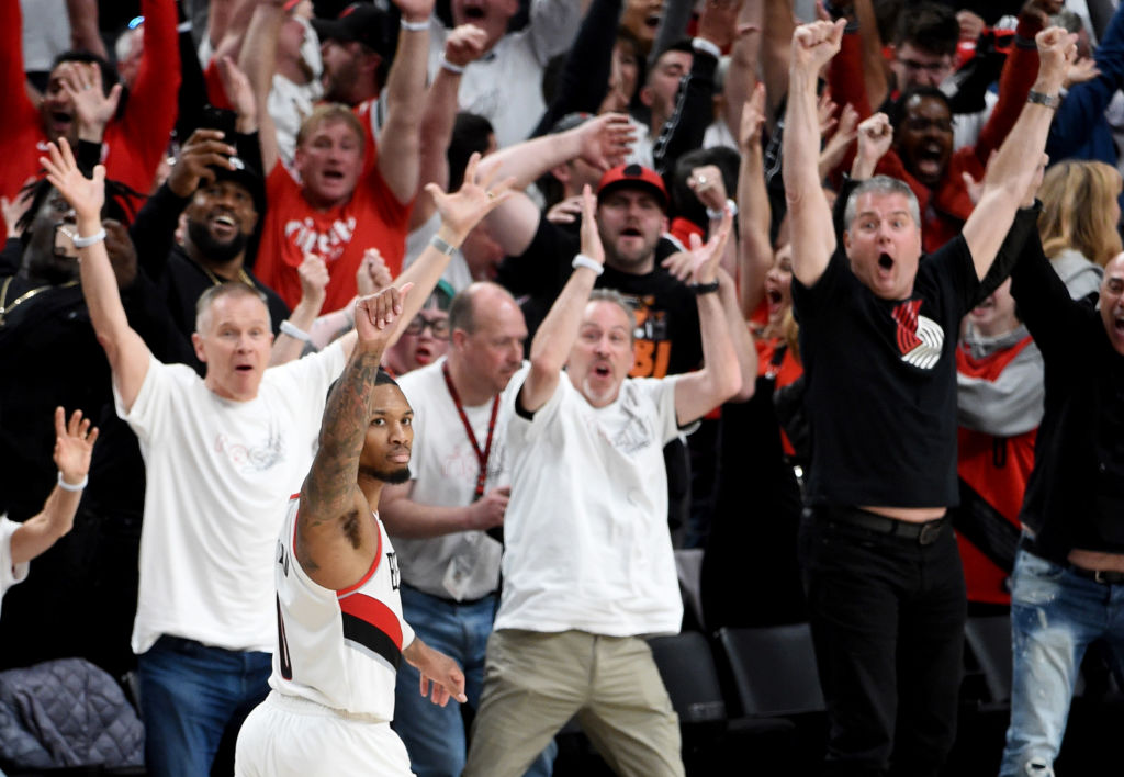 Damian Lillard Sends Thunder Home With 37-Foot Buzzer Beater