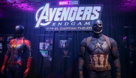 "The El Capitan Theatre Hosts Marvel Studios's ""Avengers: Endgame"" Opening Day Marathon Event"