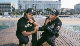 Ice Cube et John Singleton à Cannes