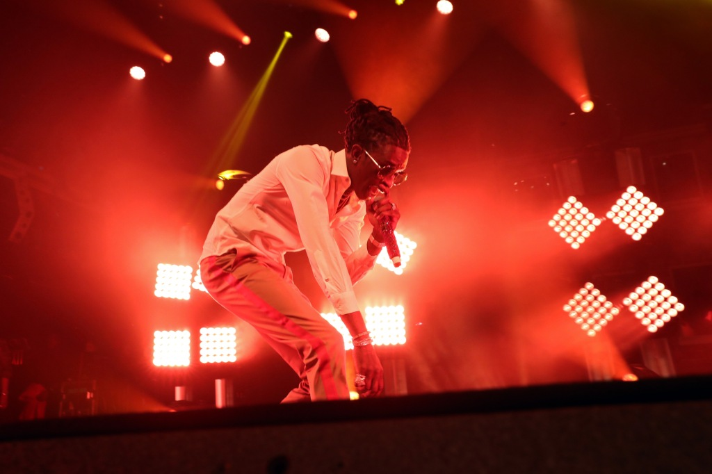 Young Thug In Concert - New York, NY