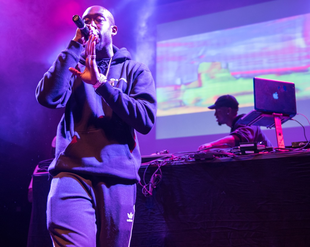 Freddie Gibbs performs at the 9:30 Club in Washington, DC.