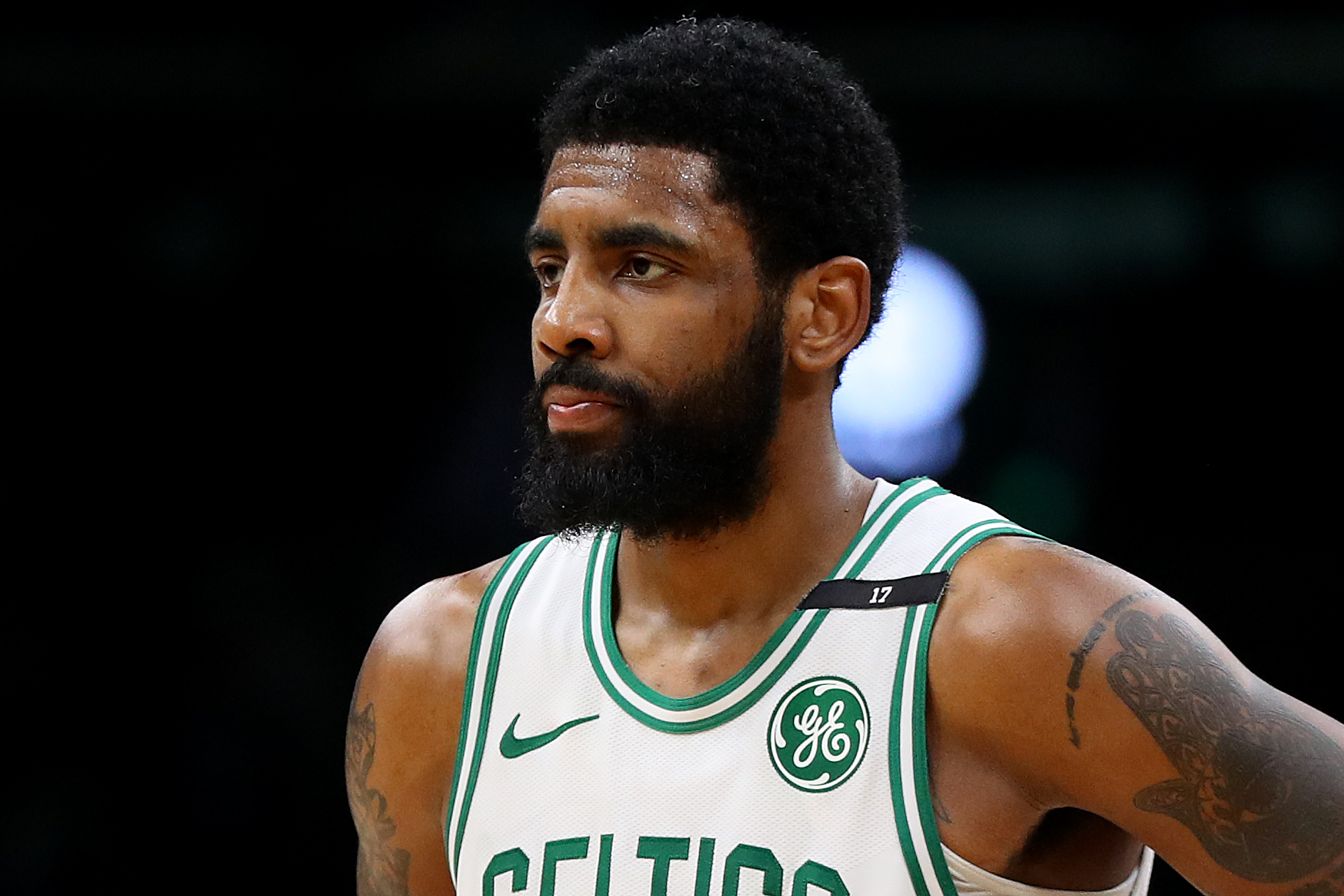 """When Asked About His Playoff Shooting Woes, Kyrie Says """"Nobody Cares"""""""