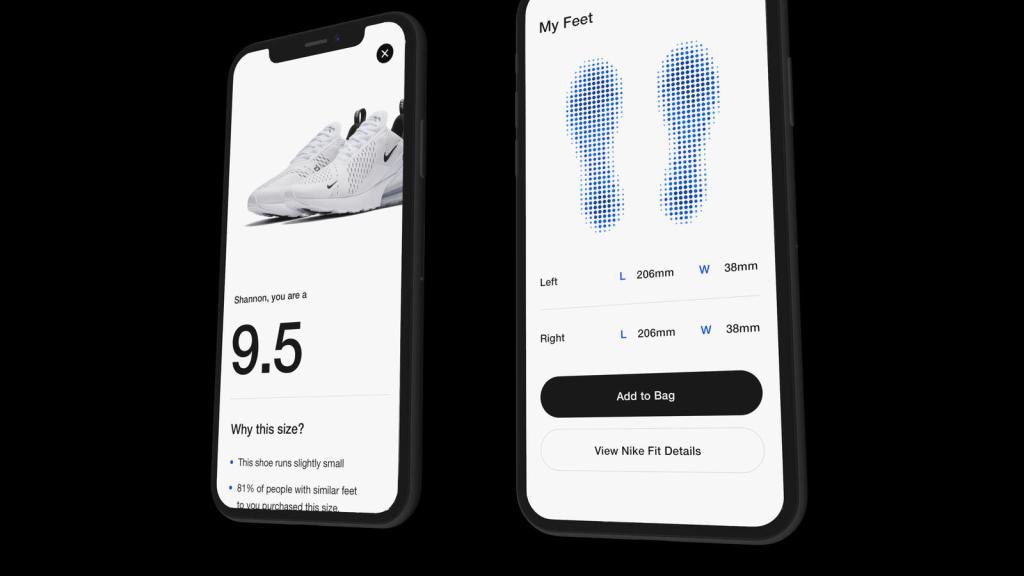 Nike Fit tech