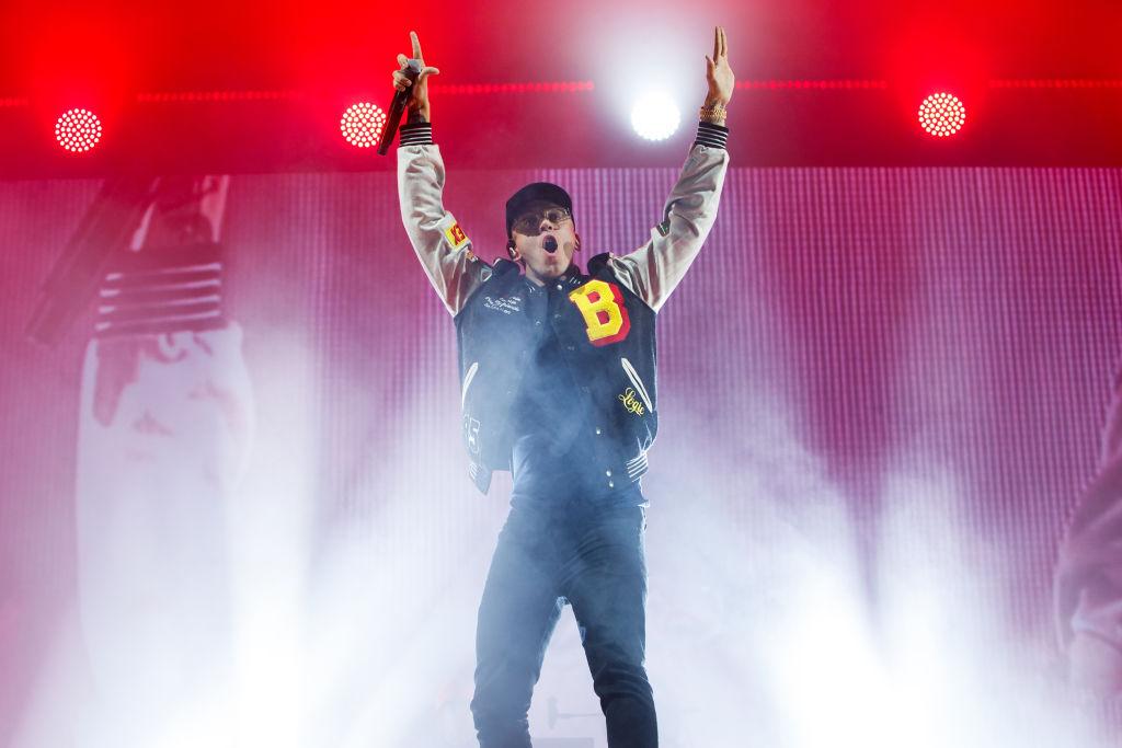 Logic Performs Alexandra Palace , London
