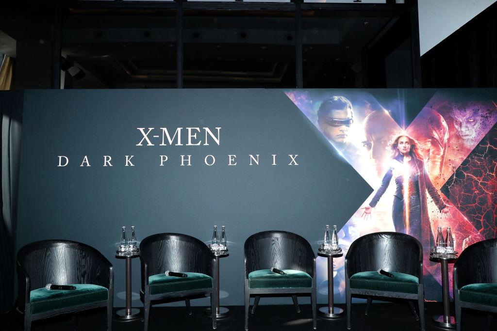 """X-Men Dark Phoenix"" : Photocall At Cafe De L'Homme In Paris"