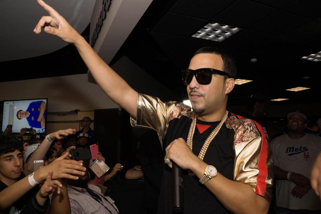 French Montana Promotes His New Album 'Excuse My French'