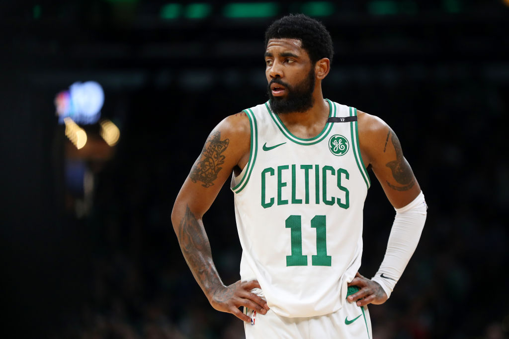 Kyrie Irving Reportedly Serious About Signing With The Brooklyn Nets