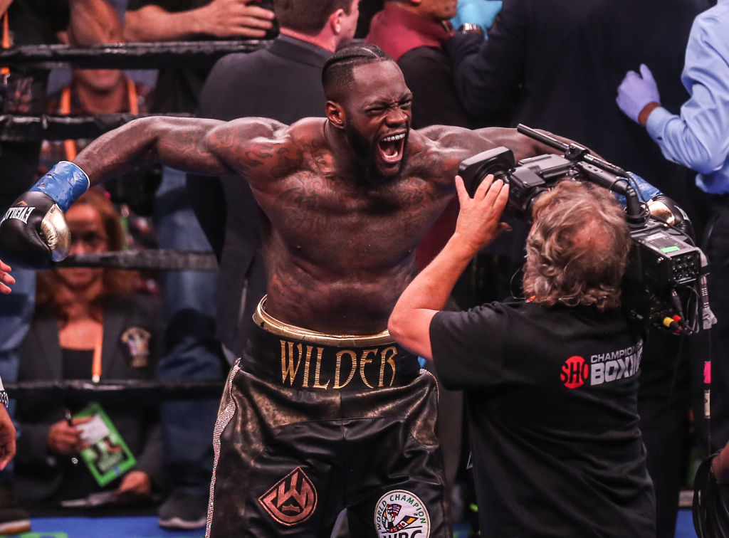 """Deontay Wilder Says Anthony Jousha Is A """"Broken Man"""" After Loss"""