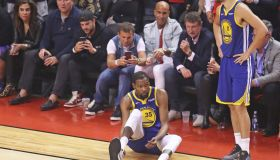 Golden State Warriors v Toronto Raptors - Game Five