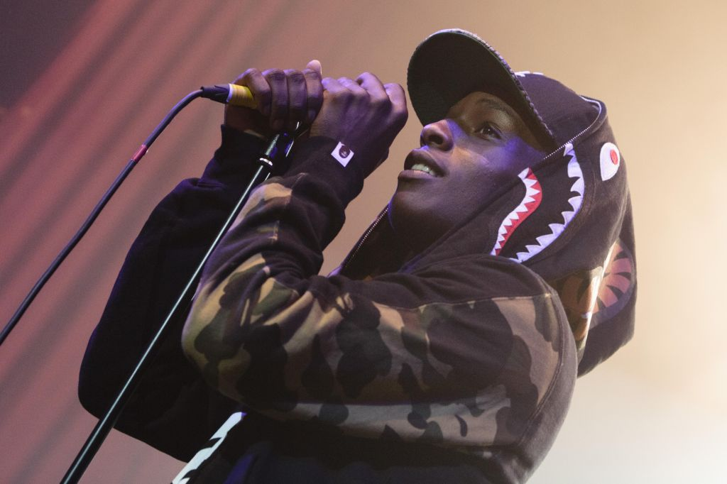 A$AP Rocky Performs In Manchester