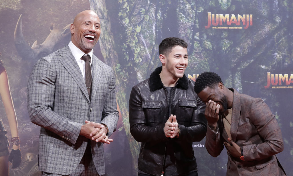 Dwayne Johnson, Kevin Hart & More Return In 'Jumanji' Sequel Trailer