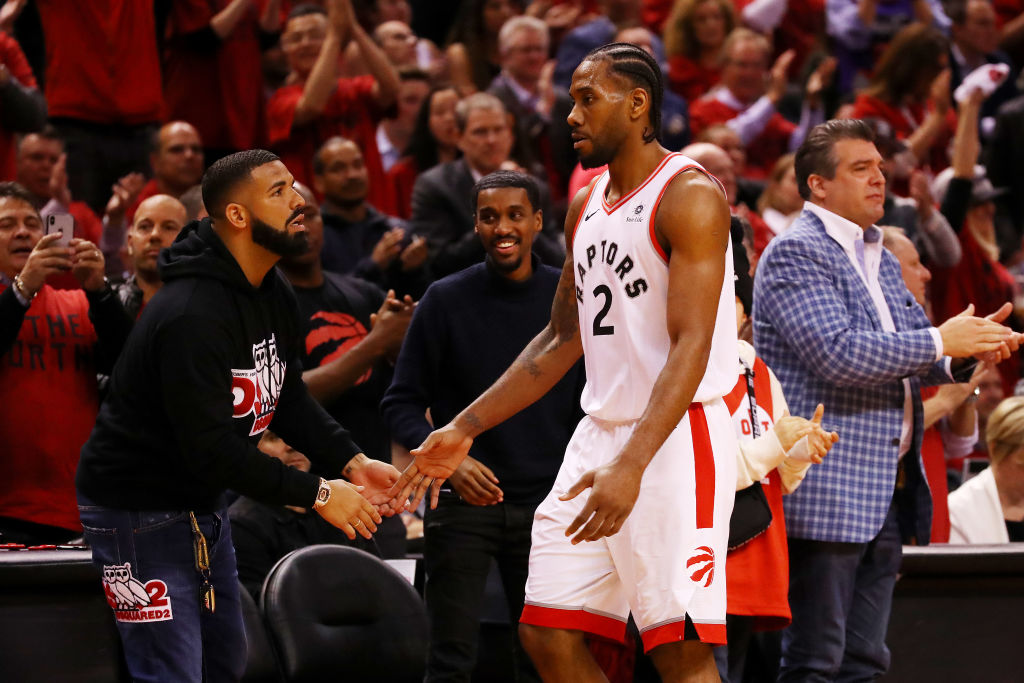 Drake Reportedly Recruiting Kawhi Leonard To Re-Sign With Raptors