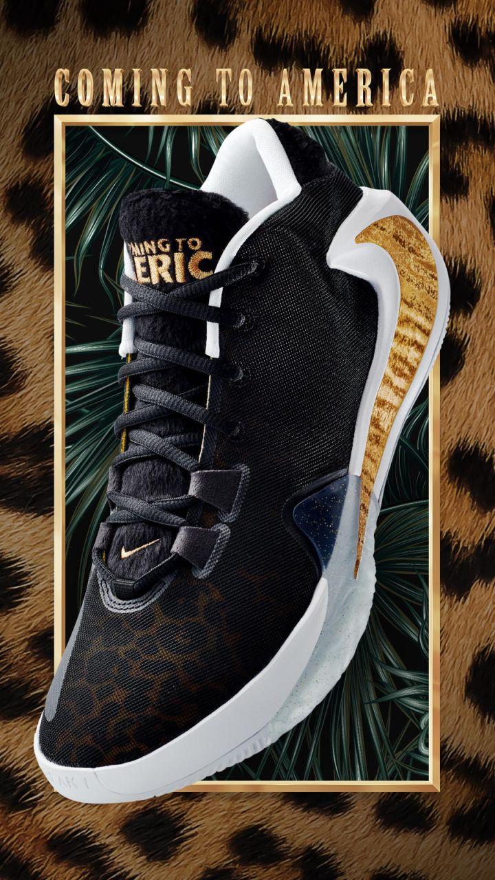 Nike Giannis Antetokounmpo 'Coming To America' Collection
