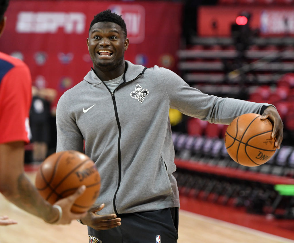 Puma Making A Strong Pitch To Land Zion Williamson, Nike Well Aware