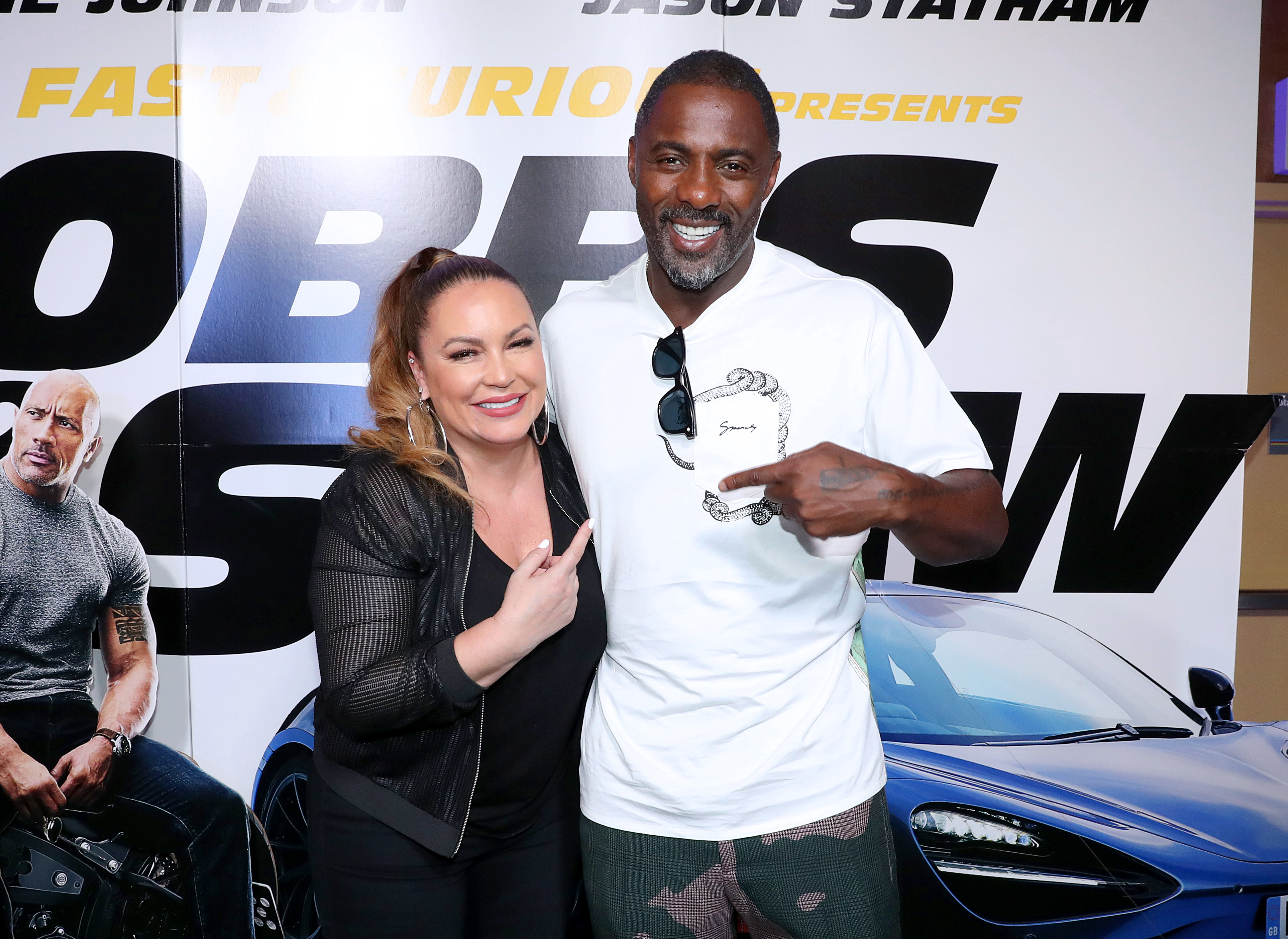 Hobbs & Shaw Screening Hosted By Angie Martinez & Idris Elba